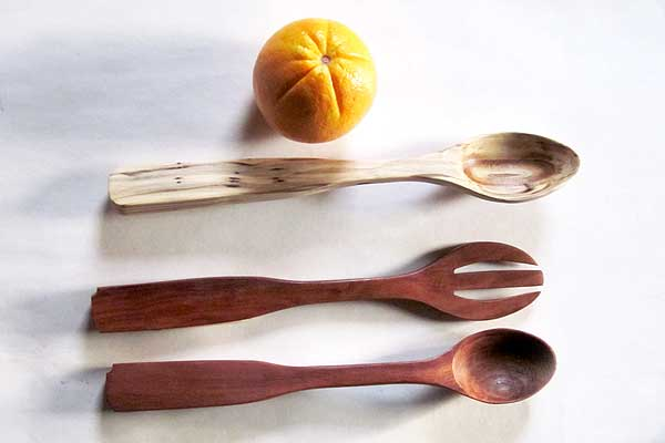 Hand Made Wooden Spoon-One of a Kind
